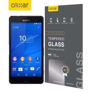 Tempered Glass Sony Xperia All Tipe Temperedglass Xperia All Tipe olixar sony xperia z3 compact tempered glass screen protector