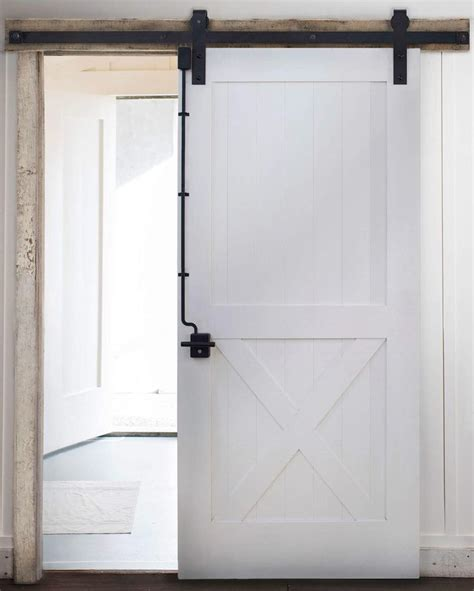 Introducing The Rustica Door Lock We Ve Pioneered The Sliding Barn Door Locking Hardware