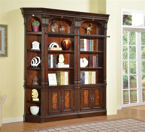 parker house corsica library bookcase wall unit ph  lib