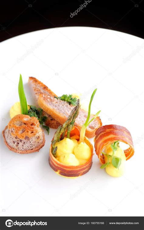 fine dining stock photo image 4243580 fine dining gourmet food ham egg stock photo 169 vision