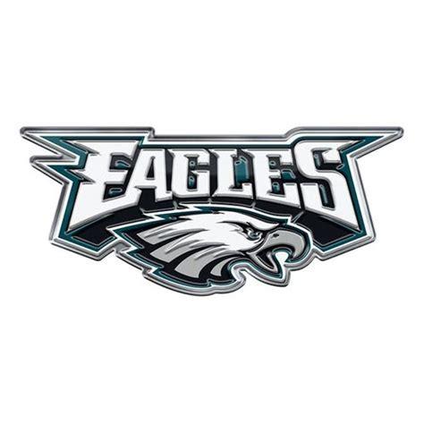 philadelphia eagles fan shop philadelphia eagles auto emblem color alternate logo