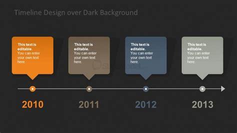 timeline background horizontal timeline design background slidemodel