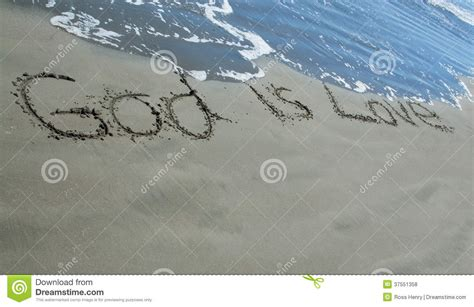 imagenes de i love you god god is love sand royalty free stock photos image 37551358
