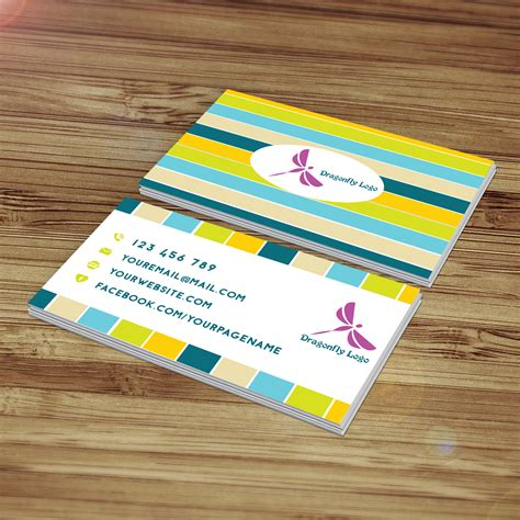 design business cards at home business card template design dragonfly aya templates
