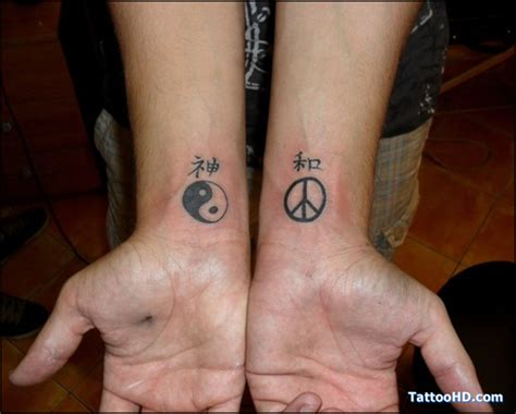 small yin yang tattoos symbols yin yang tattoos on wrists