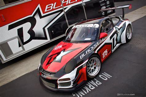 Two Car Garage Designs team blackstar porsche 911 cup car ki studios