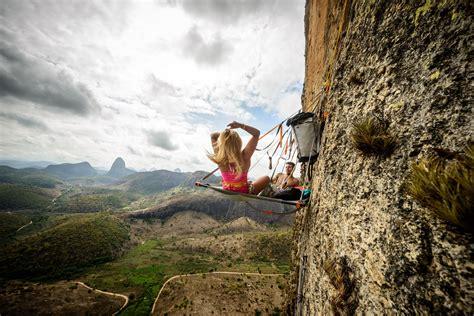 Sasha DiGiulian rock climbing big walls in Brazil   Doovi