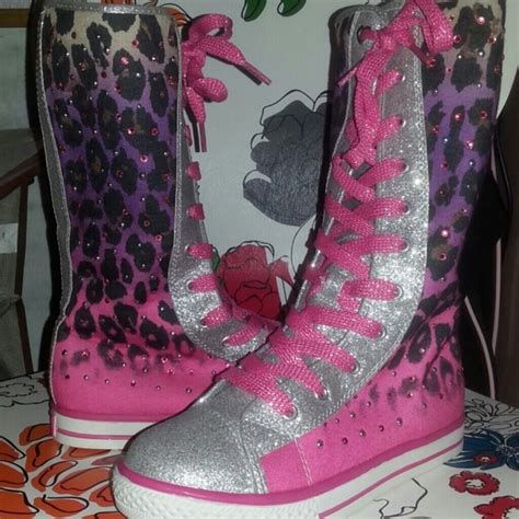 justice shoes nwot justice boots girls sz