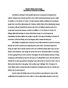 Nursing Home Design Guidelines Uk by Loneliness In The Catcher In The Rye Persuasive Essay