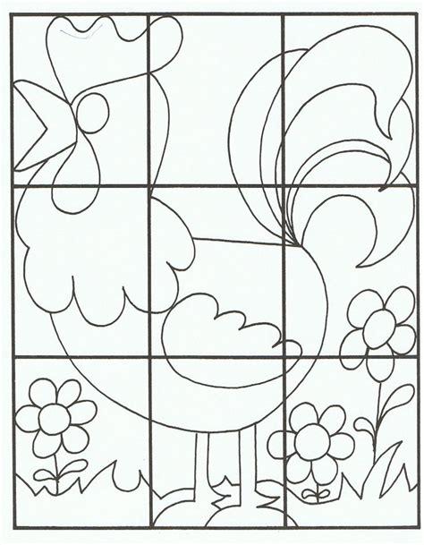 templates voor pages puzzel kleurplaat haan bc pasen pinterest language