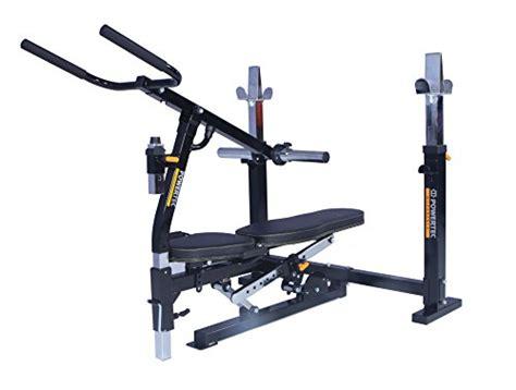 powertec workbench olympic bench powertec workbench olympic bench wb ob15 dip machine accessory wb dma16