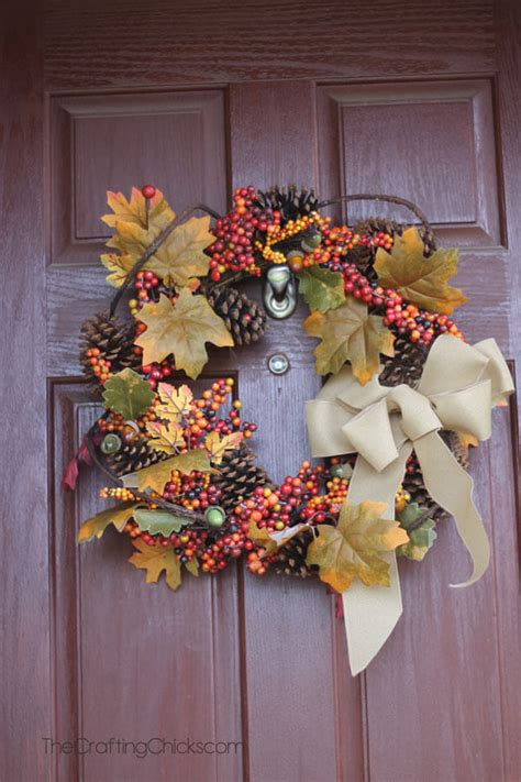25 best fall door wreath ideas and designs for 2018