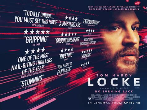 review film locke adalah locke trailer and poster revealed
