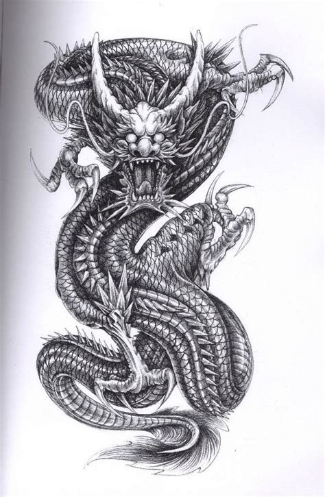 tattoo japanese dragon black 28 japanese dragon tattoos designs