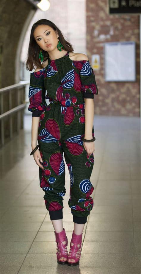 jumpsuit with ankara ankara jumpsuits and portal on pinterest