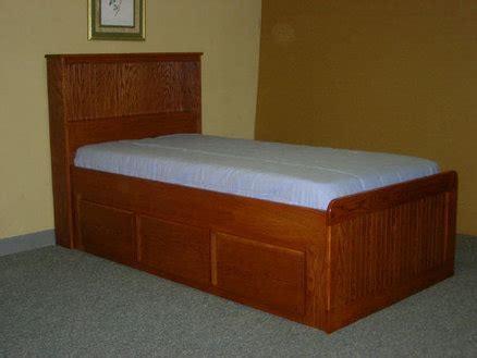 Oak Captains Bed by Oak Captain S Bed By Chris Davis Lumberjocks