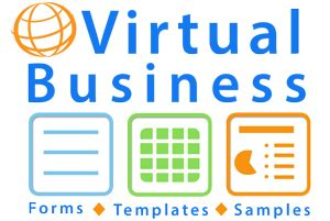 virtual assistant forms templates and sample documents