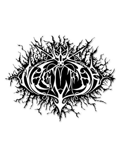 Metal Band Heckscheibenaufkleber by Naglfar Logo Heckscheibenaufkleber Metal Sticker Schwarz Weiss