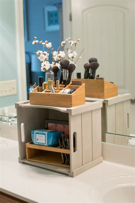 how to organize bathroom vanity a functional and pretty vanity