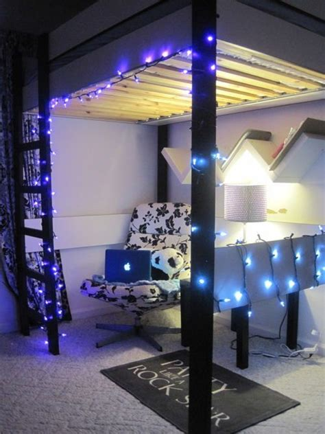 Bunk Bed Lighting Ideas 29 Best Images About College Room Lights On Pinterest