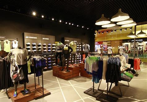 Shop Lighting by Nike Store Lighting