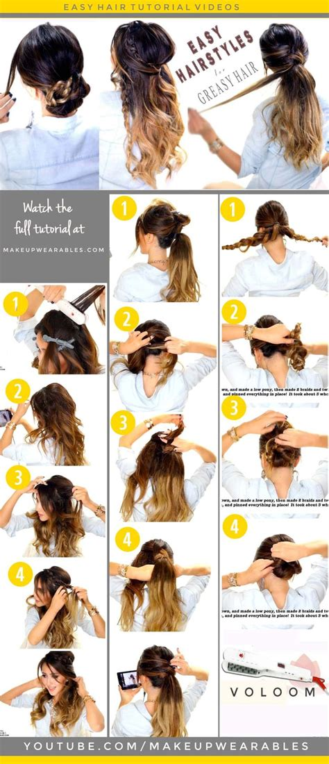 diy hairstyles for greasy hair best 25 hairstyles for greasy hair ideas on pinterest