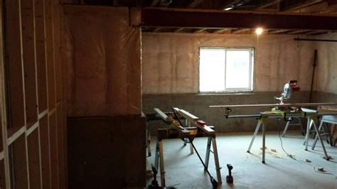 basement finishing do it yourself finishing a lookout basement wall without a shelf
