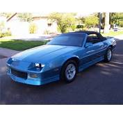 1989 CHEVROLET CAMARO RS CONVERTIBLE  Barrett Jackson Auction Company