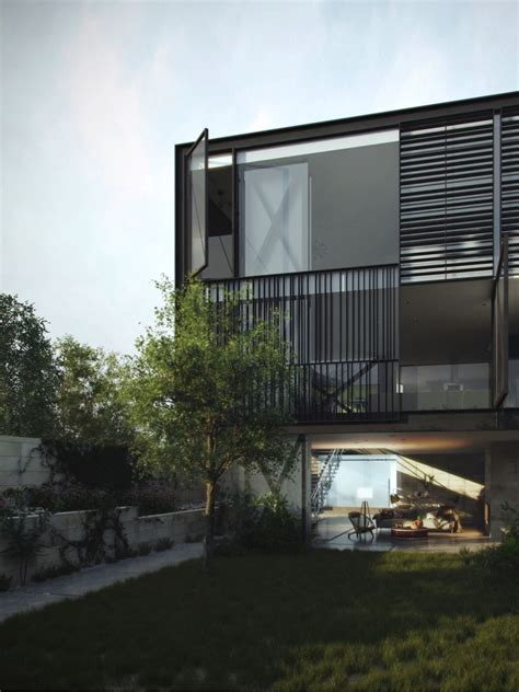 glass box house glass box home blends audacious design with innovative