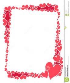 frame ou beira cor de rosa dos cora 231 245 es do valentim imagem