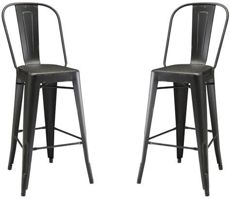Black Metal Bar Stools by Black Metal Bar Stool 106012 Coaster Furniture