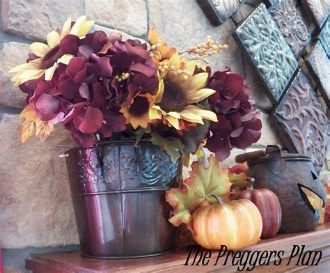 Fake Flower Bouquets How To Make Inexpensive Fall Flower Arrangements The