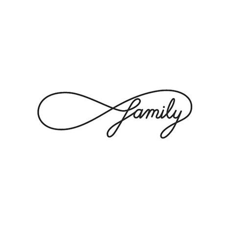 family with infinity symbol 25 best ideas about infinity family on