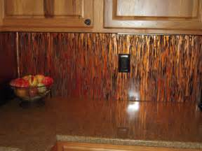 Copper Backsplash Kitchen by Kitchen Copper Backsplash