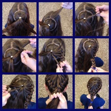 cool braided hairstyles step by step quirky braid hairstyle for girls step by step