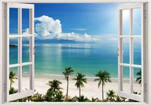 Window Wall Sticker Details About 3d Window Decal Wall Sticker Home Decor
