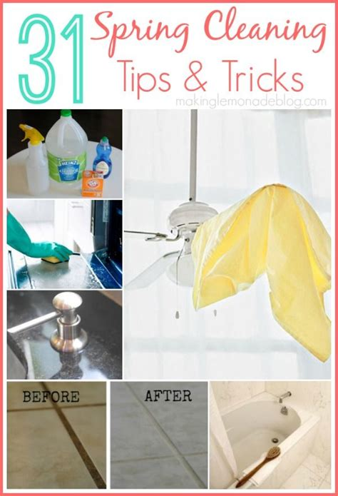 spring cleaning tips and tricks 31 quick and easy spring cleaning tips the one for