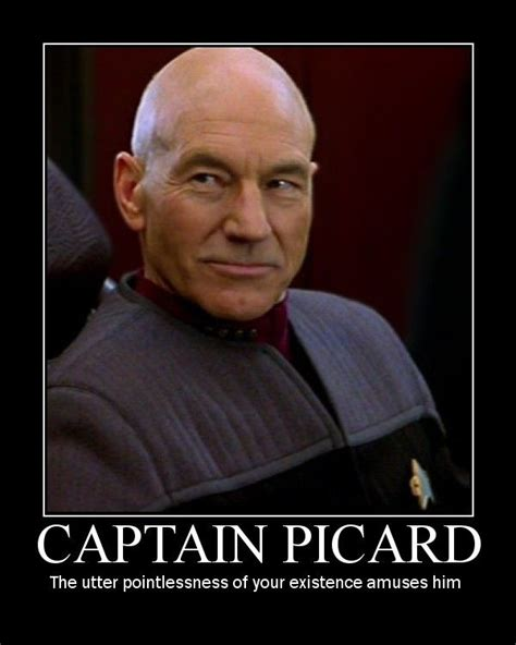 Captain Picard Meme - image 8451 the picard song know your meme