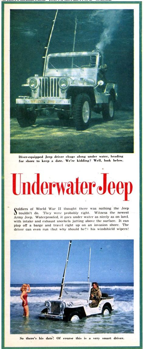 jeep snorkel underwater 23 best unique or rare jeeps images on pinterest jeep