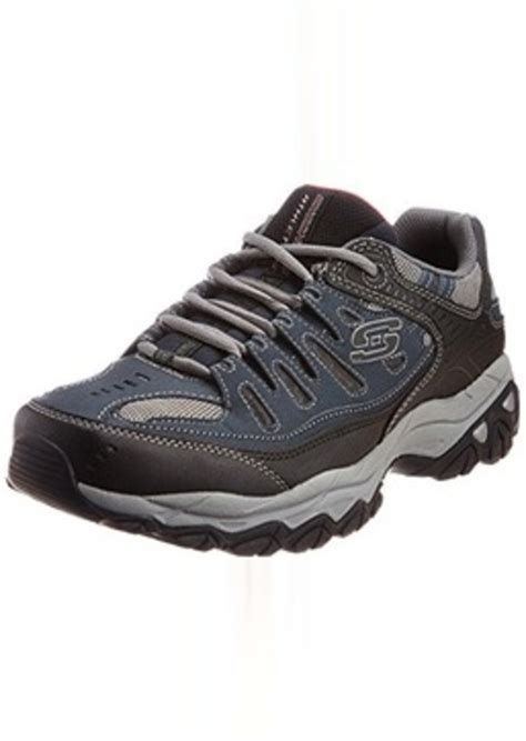 Sepatu Skechers Sport Memory Foam skechers skechers sport s afterburn memory foam lace up sneaker shoes shop it to me