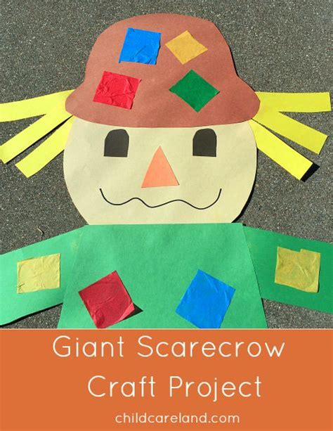 Paper Bag Scarecrow Craft For Preschoolers - 1000 ideas about scarecrow crafts on fall