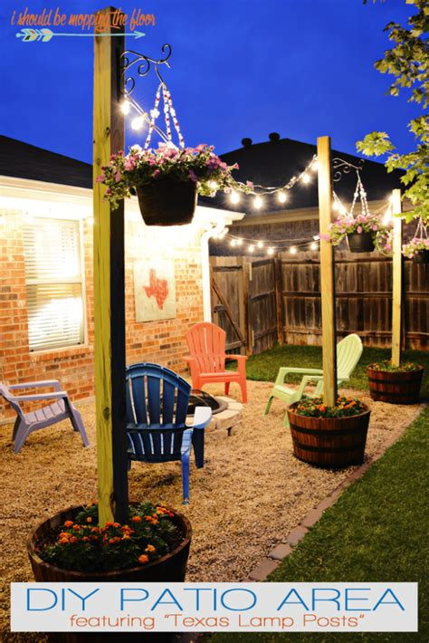 Diy Patio Lights 10 Diy Backyard And Patio Lighting Ideas