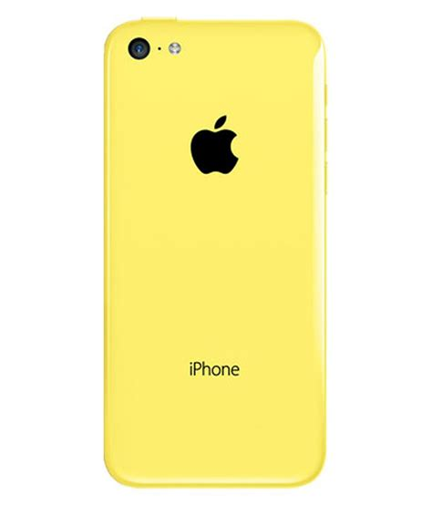 iphone 5c 8 gb yellow mobile phones at low prices snapdeal india