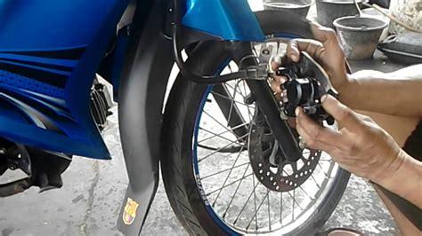 Kas Rem Depan Cakram Zr tutorial ganti kas rem cakram depan motor yamaha