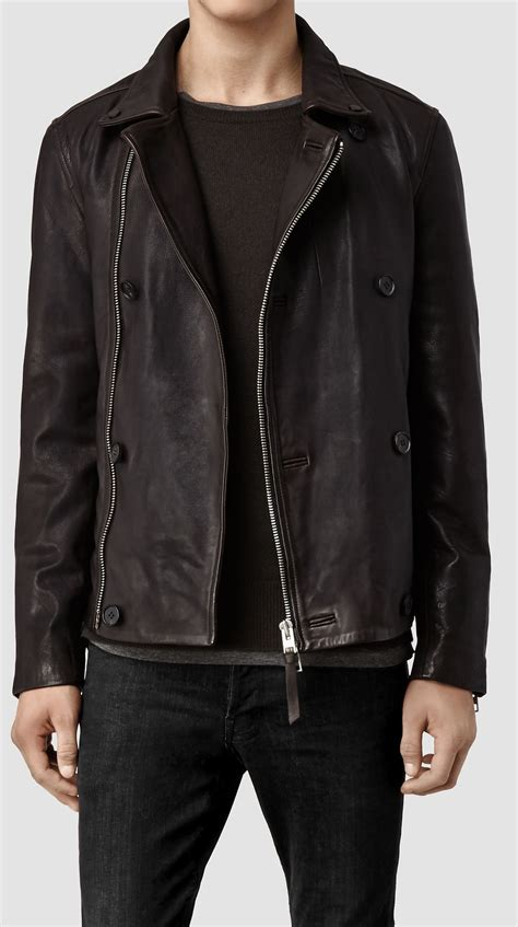 Handmade Leather Jackets - handmade mens leather jacket brown biker leather jackets