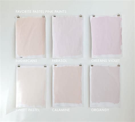 valspar pink colors favorite pastel paint colors for grown ups emily henderson