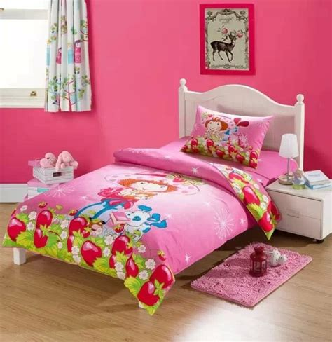 designer kids bedding aliexpress com buy cute strawberry shortcake bedding set