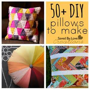 50 easy diy pillows to make things