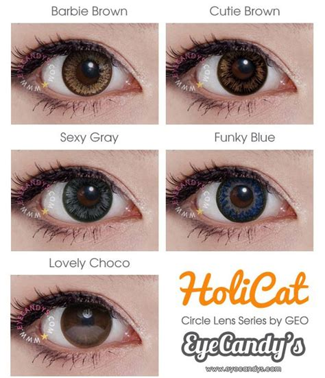 Softlens Geo Holicat Gray 24 best of color contact lenses images on