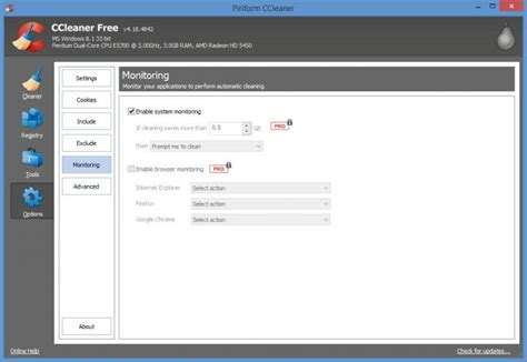 ccleaner enable active monitoring 187 ccleaner monitors your pc notifies you when it needs to